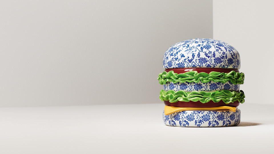L'œuvre de la semaine : Hamburger by Song Wei