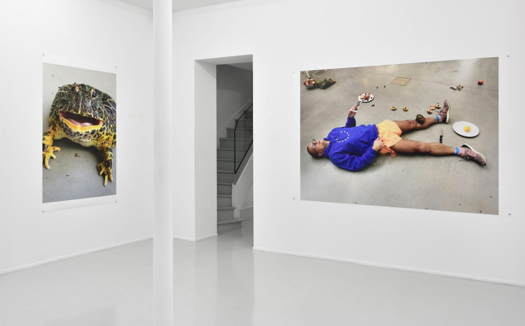 Juergen Teller à la galerie Suzanne Tarasiève en 10 photos