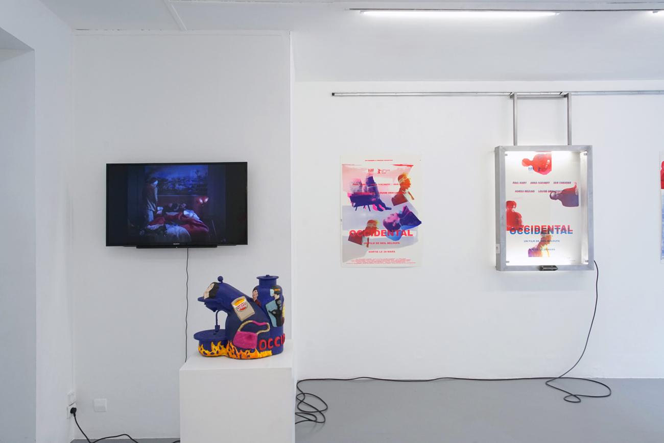 Neïl Beloufa s'affiche à la Galerie de multiples