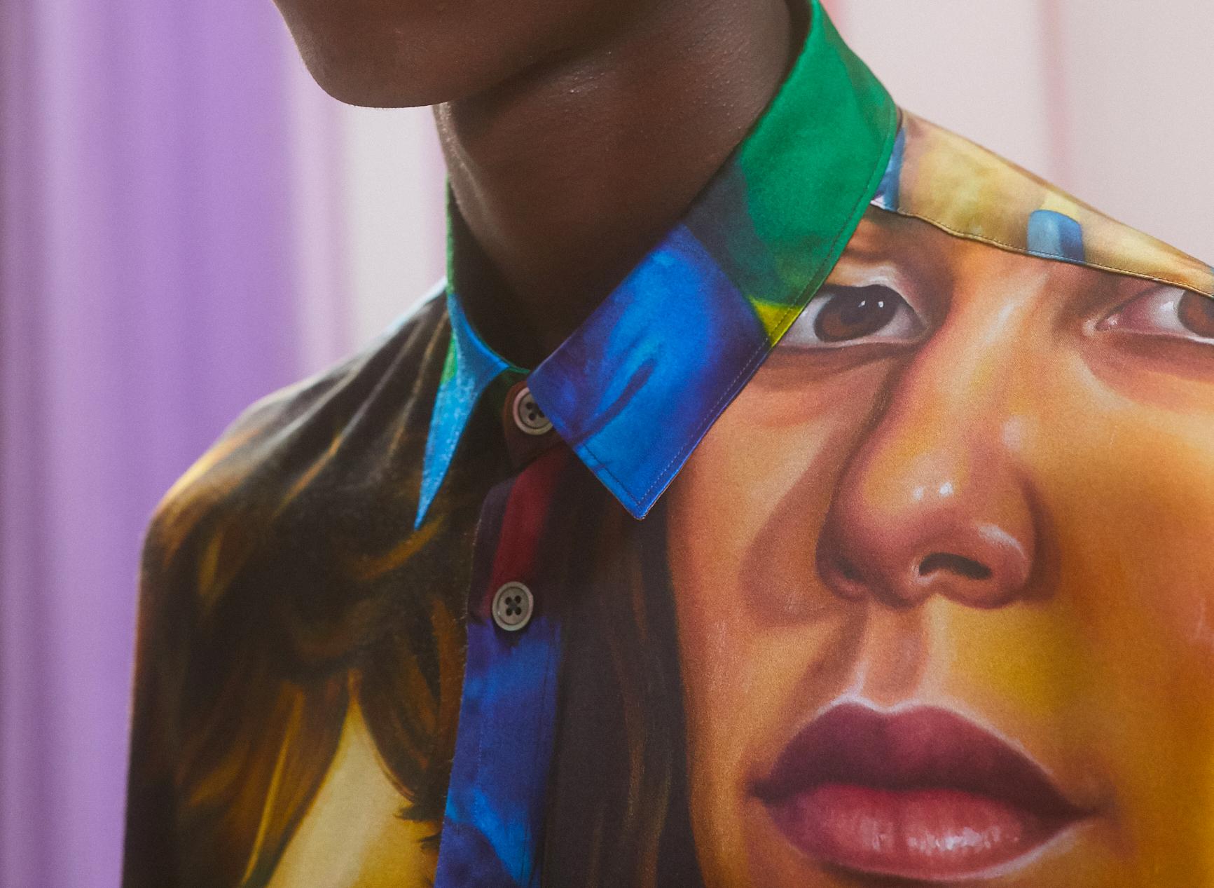 Chloe Wise x Études : peintures imprimées
