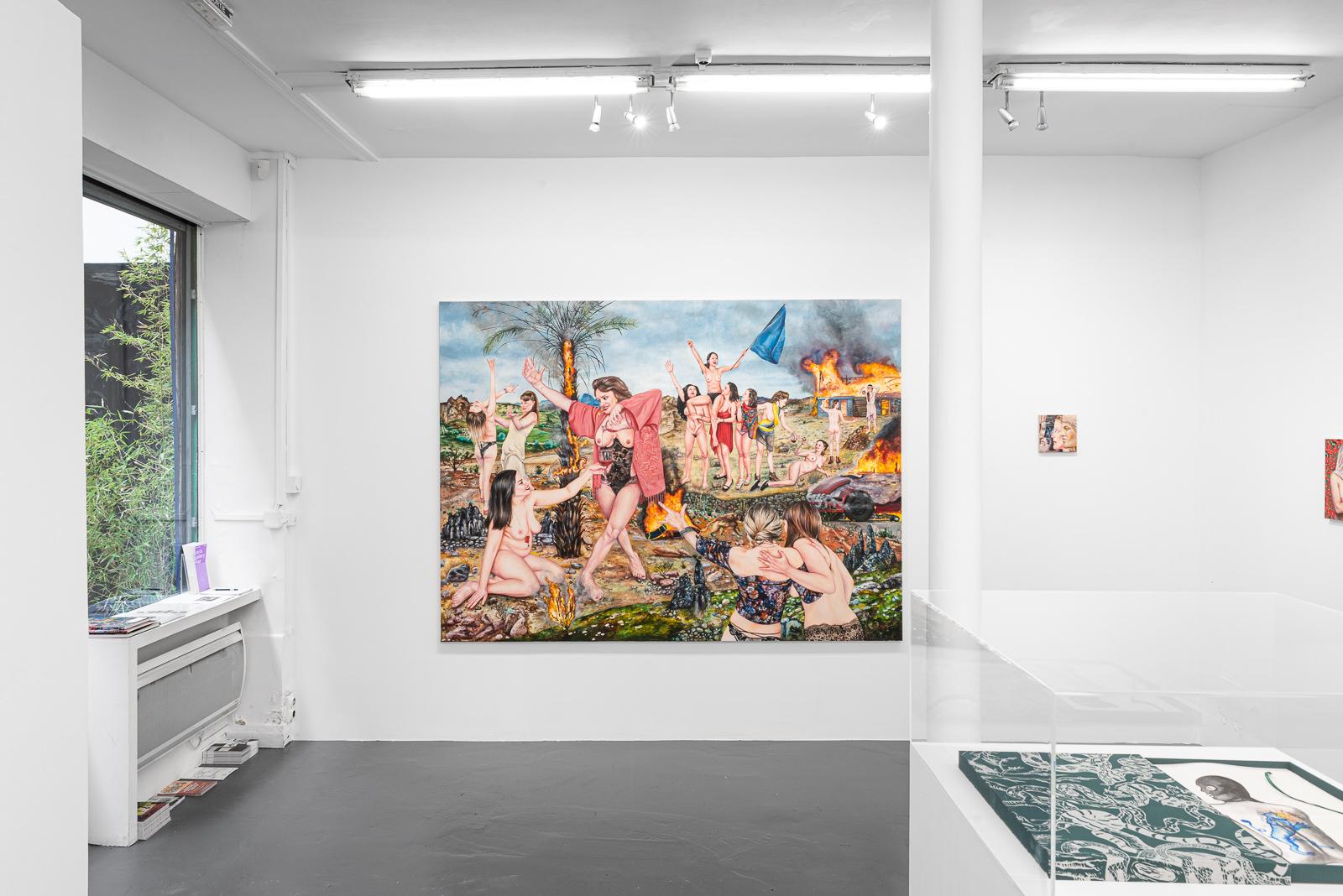 En images : Nazanin Pouyandeh à la galerie Sator