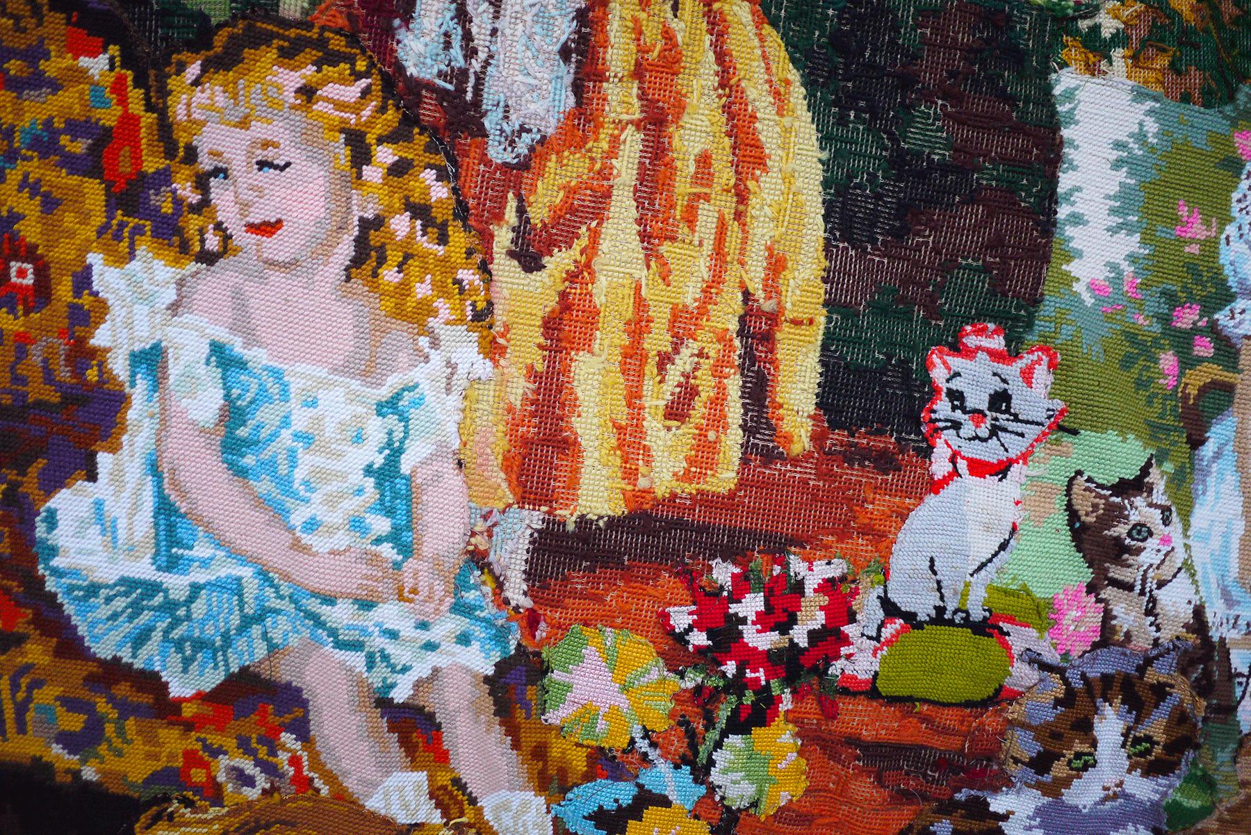 """""""Faire tapisserie"""" : 8 questions à Aurélia Jaubert"""
